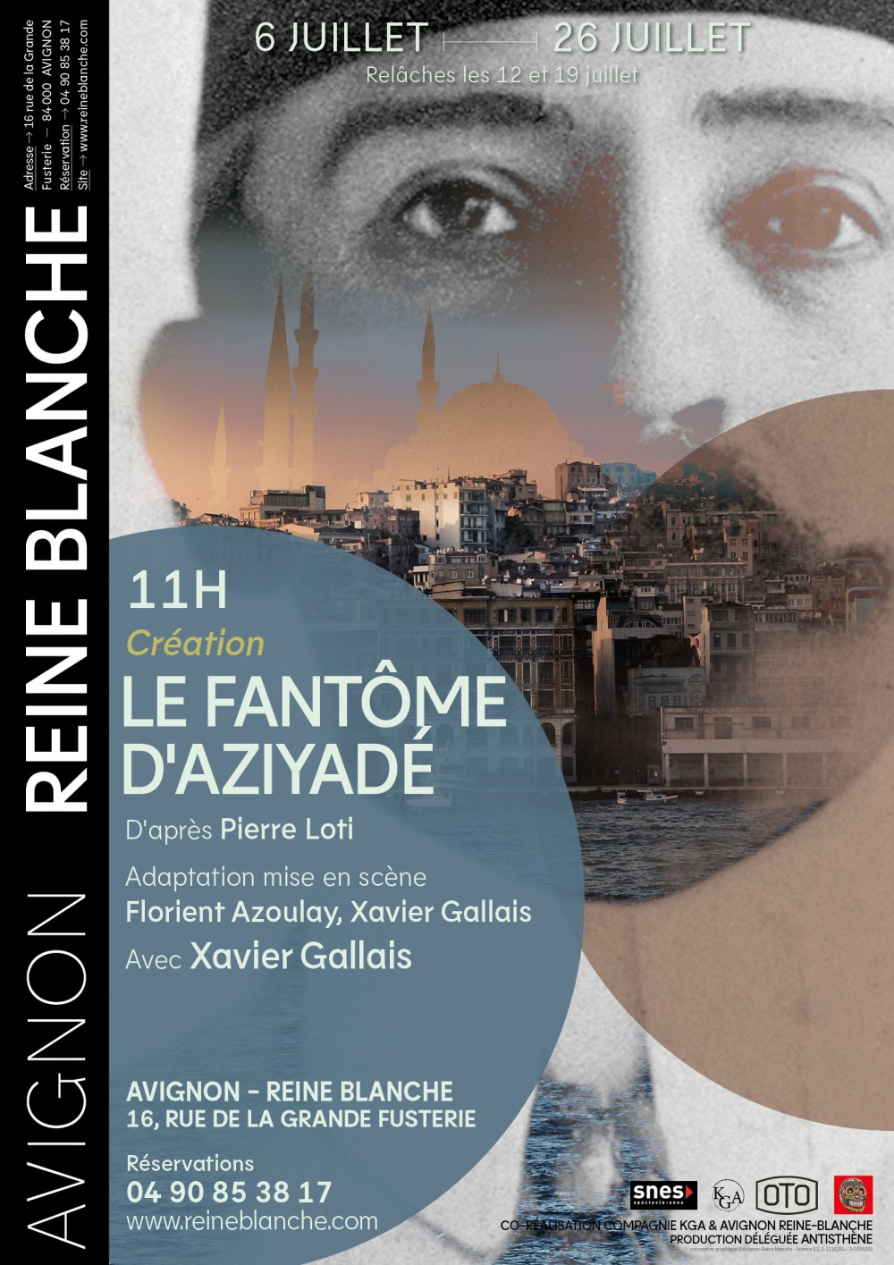 Le Fantôme d'Aziyadé - © Reine Blanche